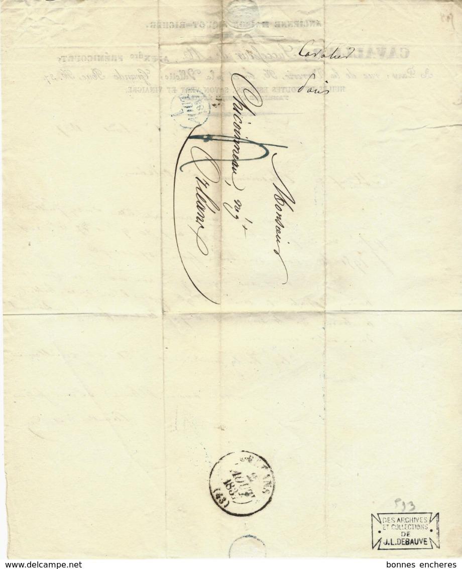 1837 PARIS VIE  QUOTIDIENNE CAVALLIER HUILES SAVON VERT ET VINAIGRE Rue De La Verrerie Et La Villette VOIR SCANS - France