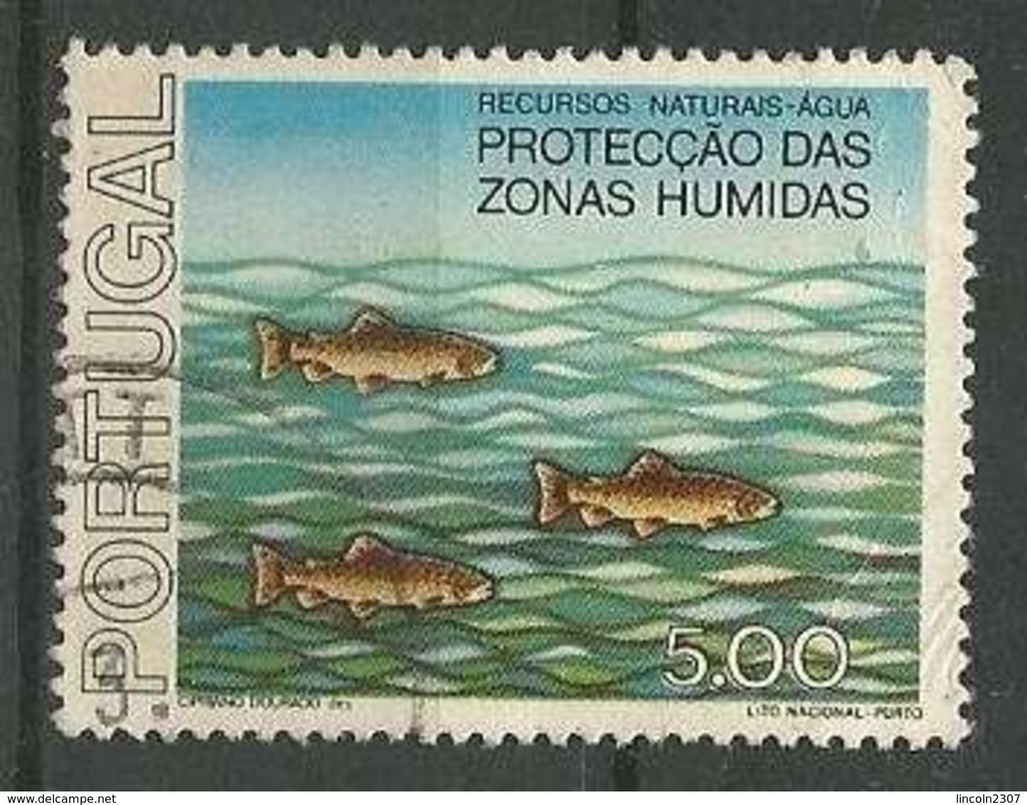 LSJP PORTUGAL NATURAL FISH RESOURCES - 1910-... Republiek