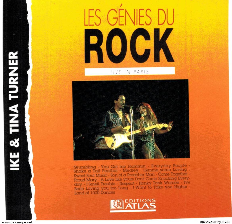 CD N°3274 - IKE & TINA TURNER - LIVE IN PARIS - COMPILATION 15 TITRES - Soul - R&B