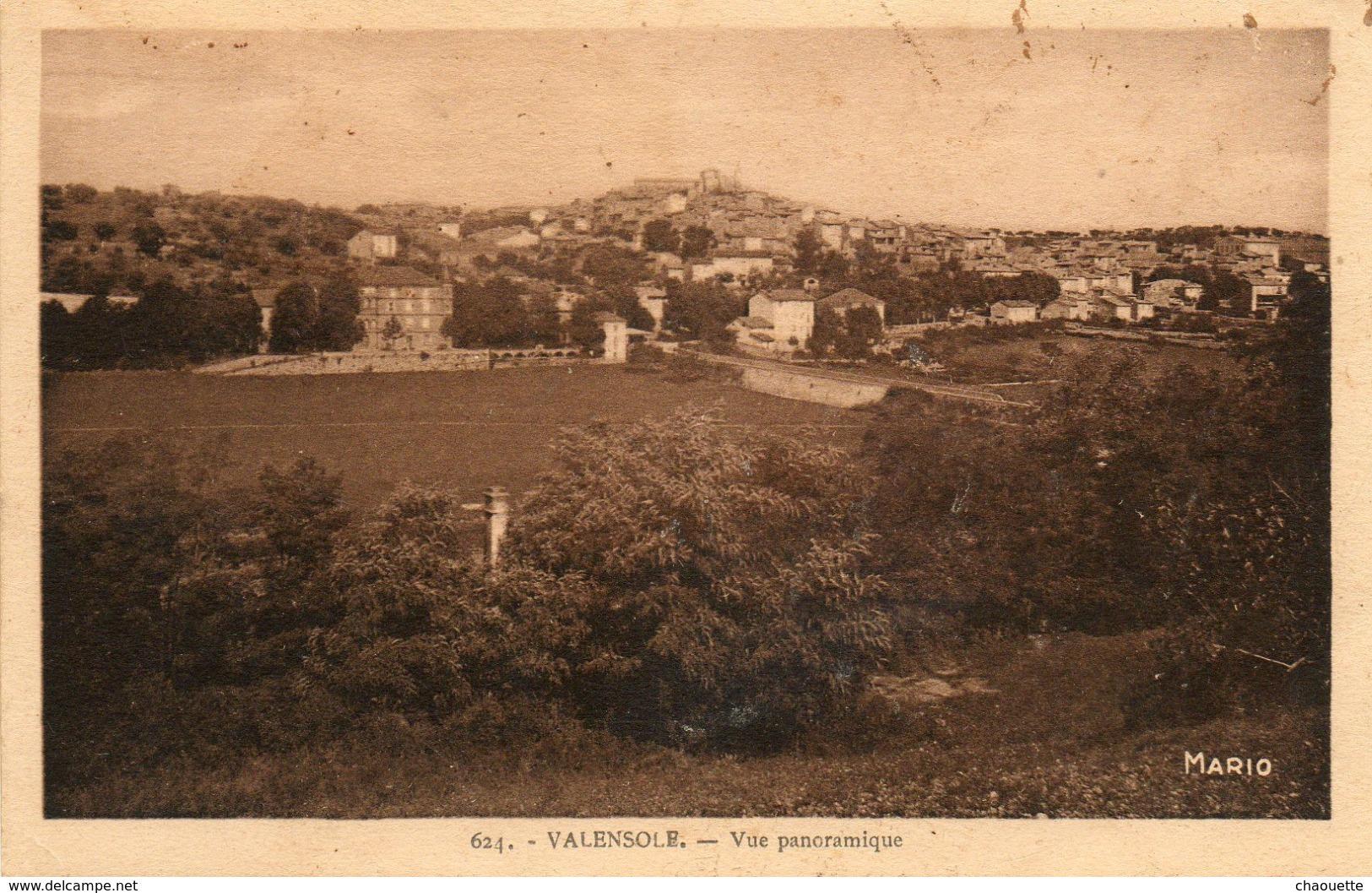Valensole....vue Panoramique  Edit Ansaldi  Digne No.624 - Frankreich