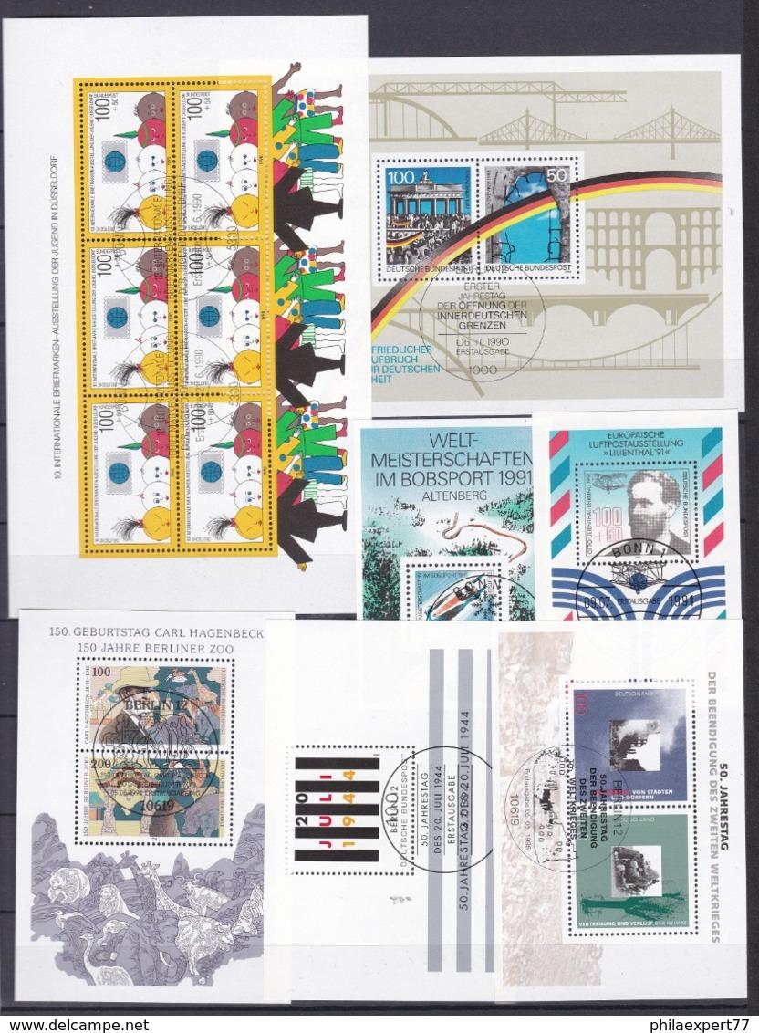BRD - 1990/95 - Block Sammlung - Gest. - BRD