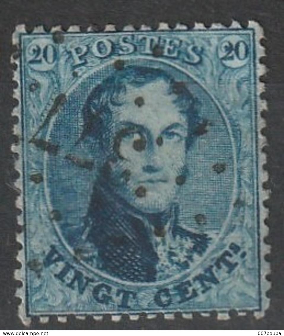 COB N° 14 - Obl. L377  Vieux-Dieu - 1863-1864 Médaillons (13/16)