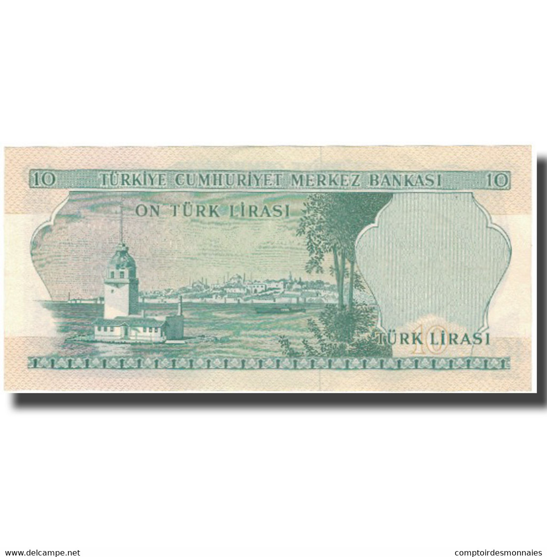 Billet, Turquie, 10 Lira, KM:180, SUP - Türkei