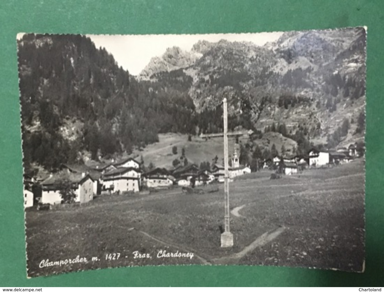 Cartolina Champorcher - Fraz. Chardoney - 1954 - Unclassified