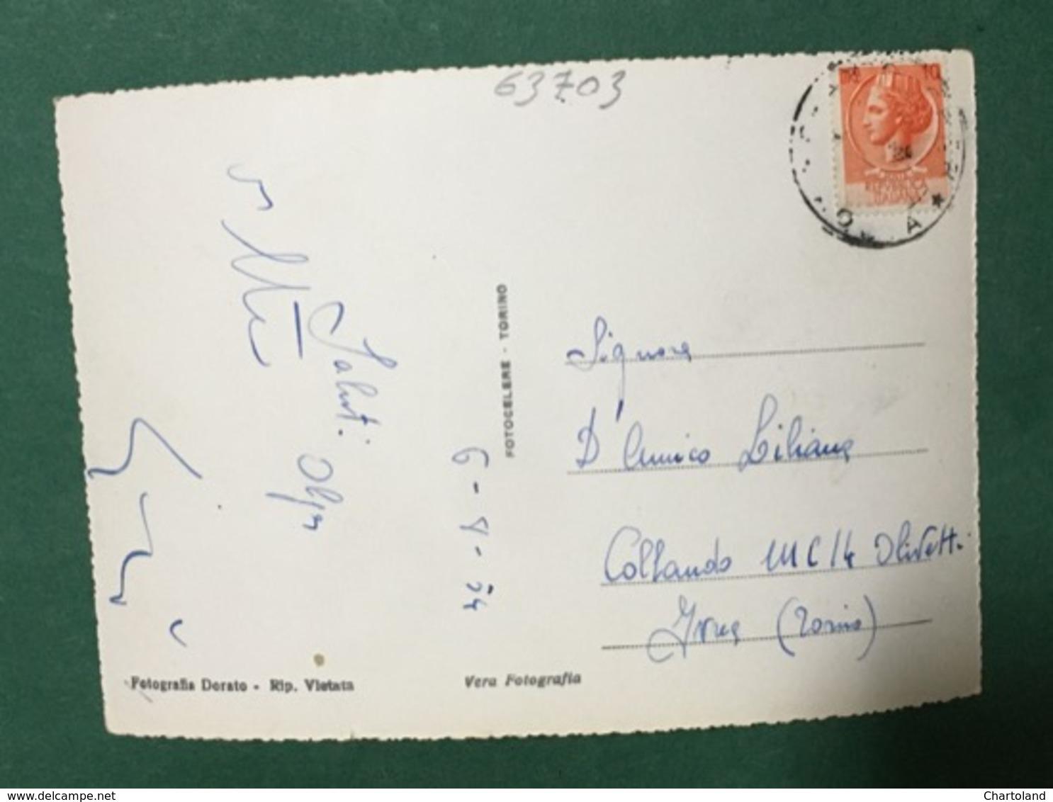 Cartolina Champorcher - Fraz. Chardoney - 1954 - Italy