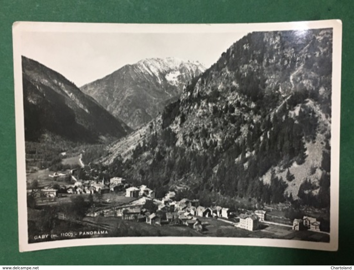 Cartolina Gaby - Panorama - 1952 - Italien