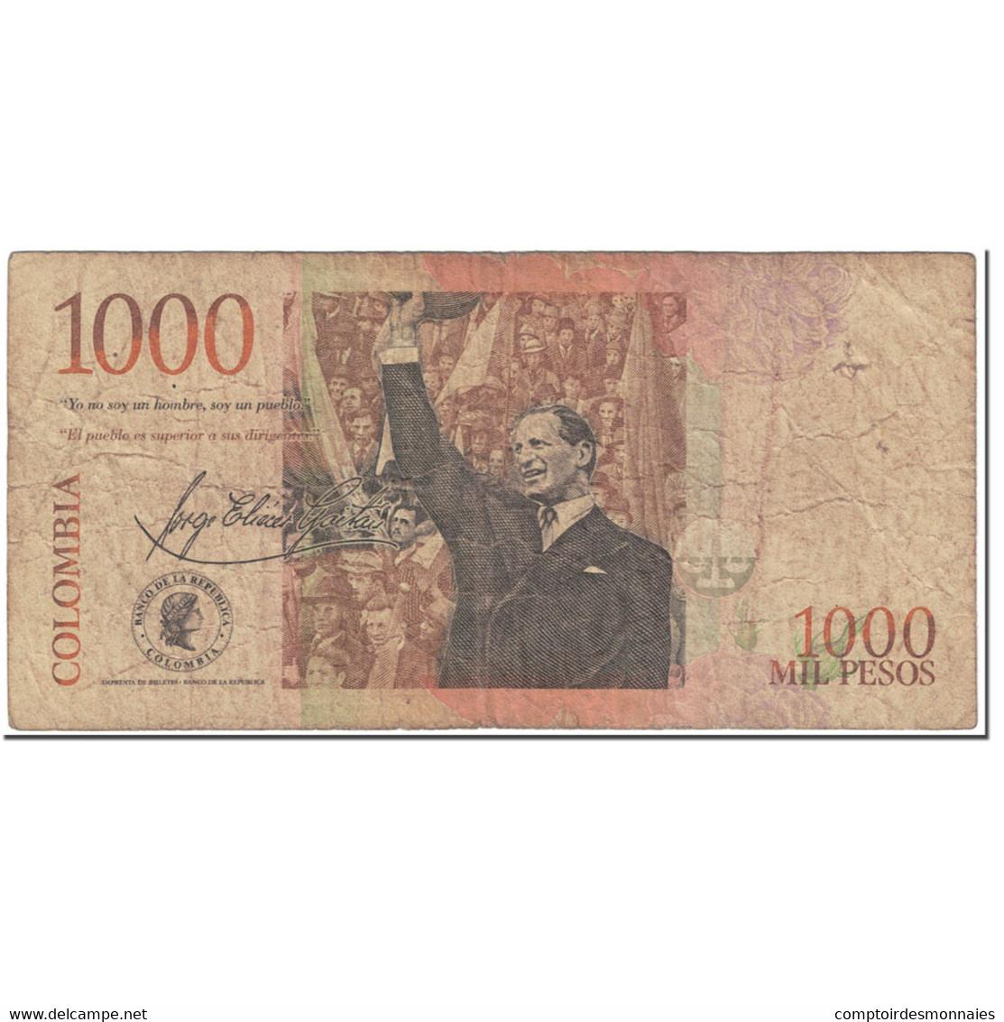 Billet, Colombie, 1000 Pesos, 2006, 2006-01-31, KM:456b, B - Colombia
