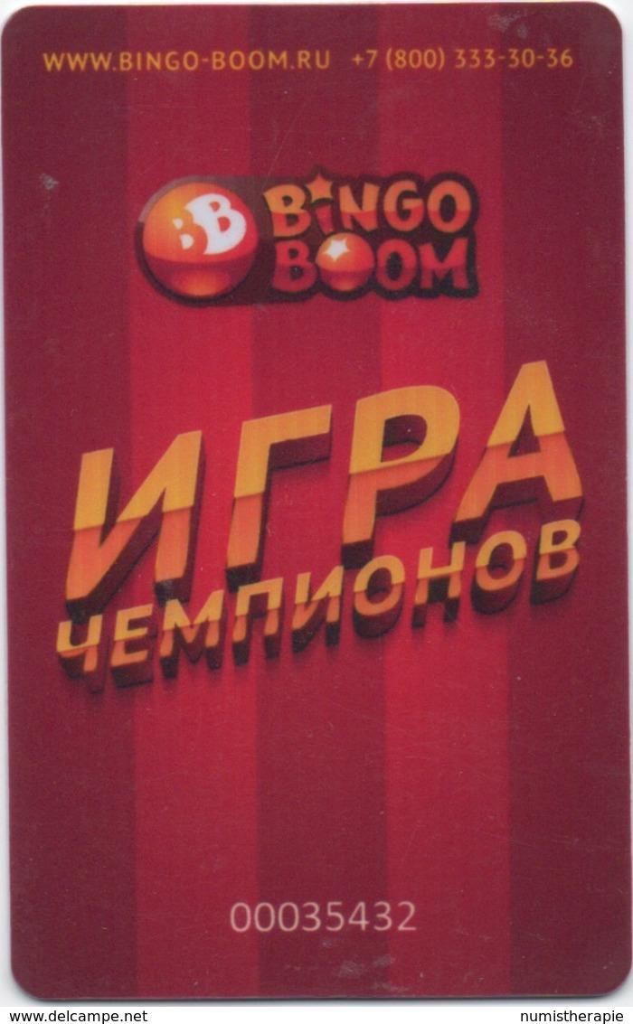 Carte Casino Centre Jeux : Bingo Boom : Ukraine - Casino Cards