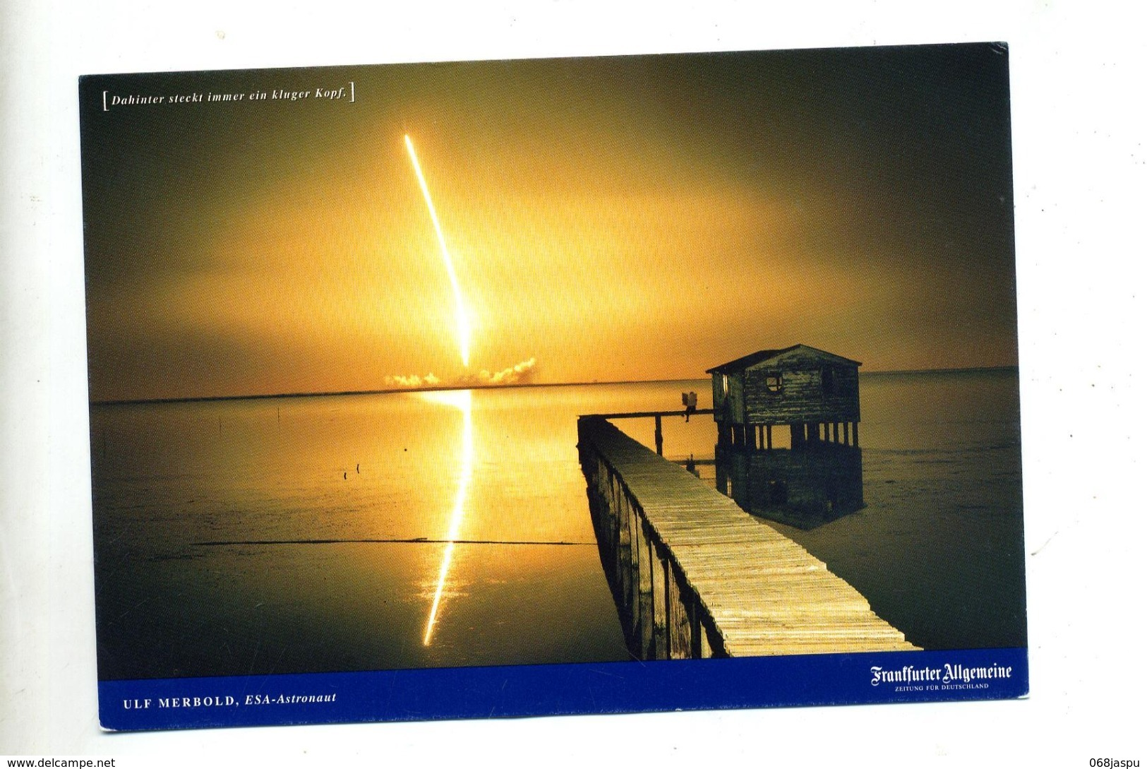 Carte  Fusee Merbold - Astronomia