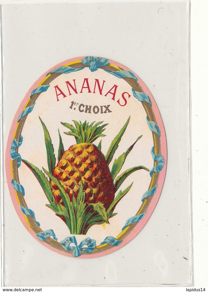AN 564 / ETIQUETTE     ANANAS  1er CHOIX - Labels