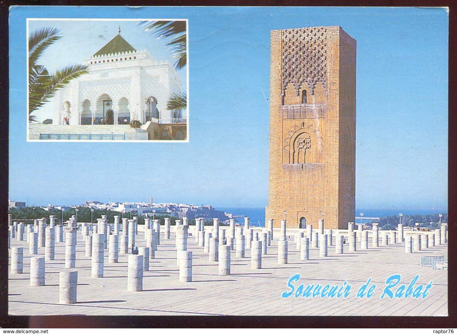 CPM Maroc Souvenir De RABAT Le Mausolée De S. M. Mohammed V Et La Tour Hassan - Rabat