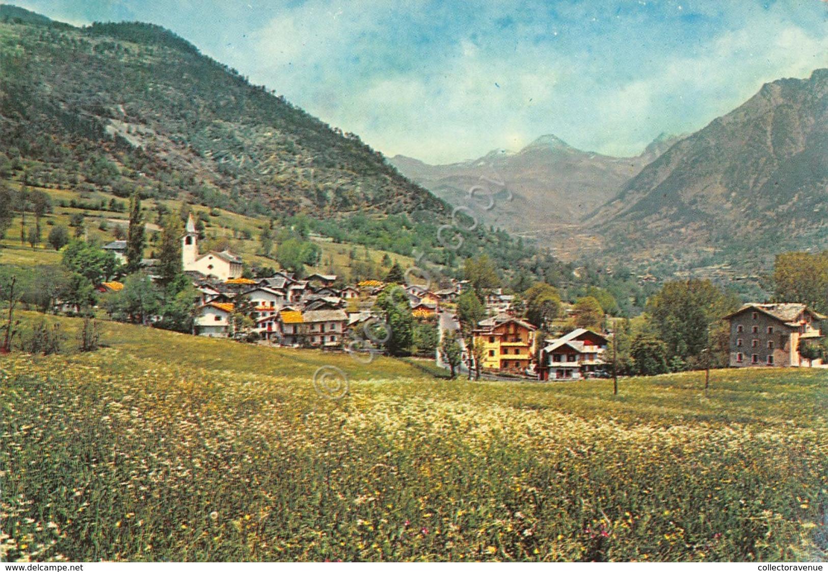 Cartolina Challant St. Anselm Panorama 1966 - Italy