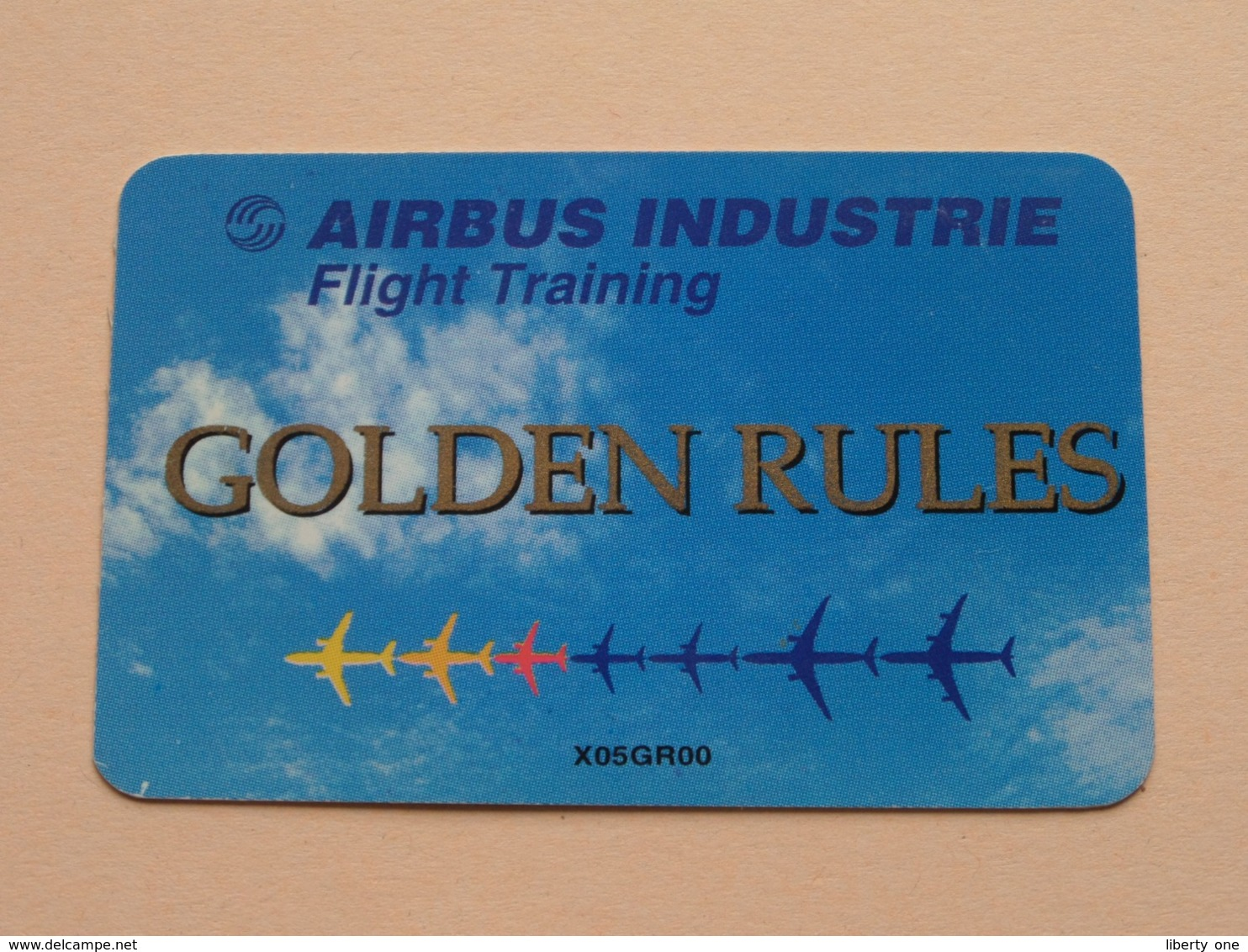 AIRBUS INDUSTRIE Flight Training GOLDEN RULES ( Zie Foto Voor Detail ) ! - Andere Sammlungen