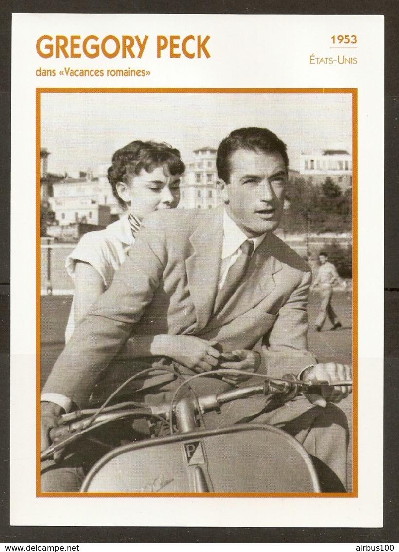 PORTRAIT DE STAR 1953 ÉTATS UNIS USA - ACTEUR GREGORY PECK VACANCES ROMAINES - UNITED STATES USA ACTOR CINEMA FILM PHOTO - Fotos