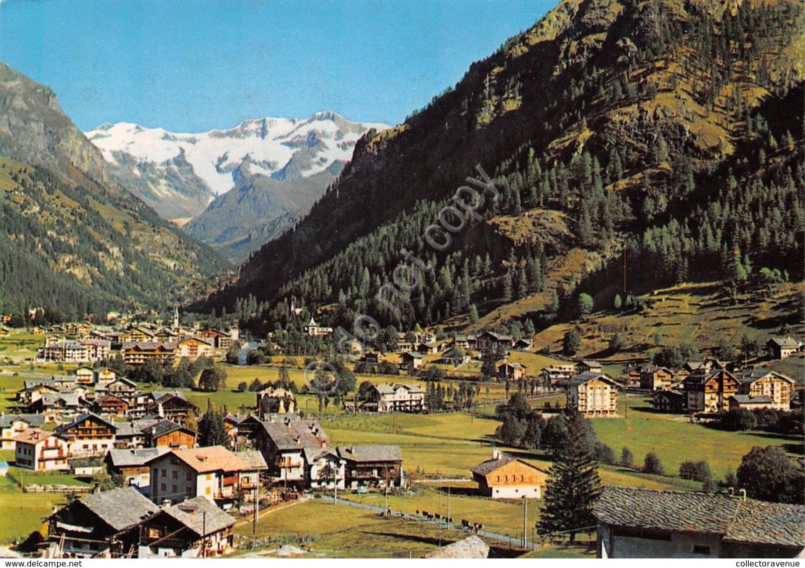 Cartolina Gressoney St. Jean Panorama 1987 - Unclassified