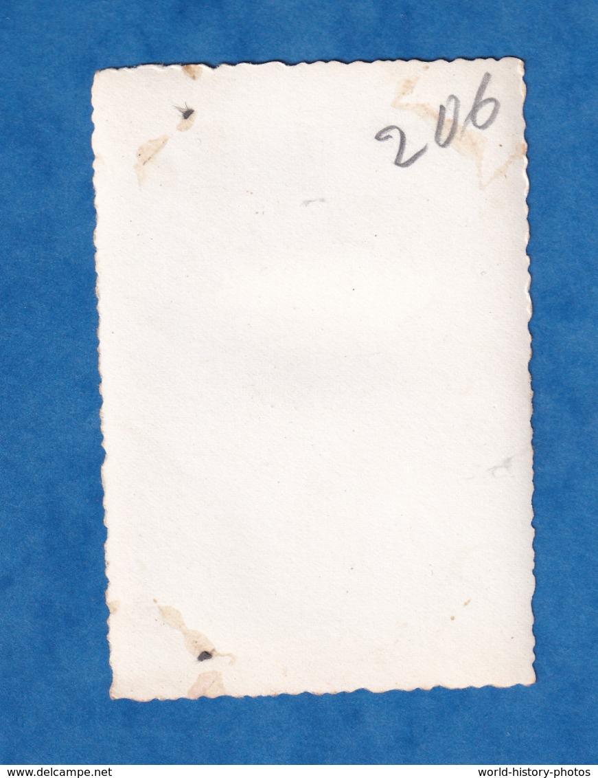 Photo Ancienne - ALGERIE ?- Défilé De Char , Modèle à Identifier - 2e Division Blindée ? - Uniforme Casque WW2 ? DB - Guerre, Militaire