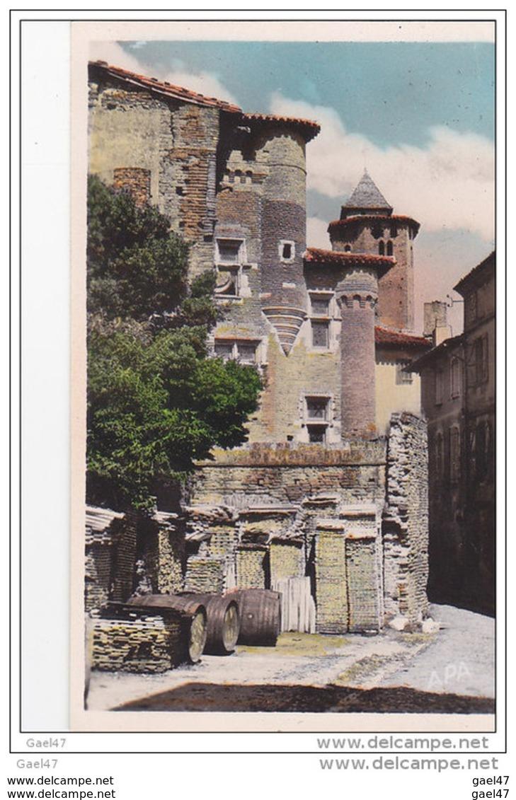 """Cpa  Réf-JP-Q-213 ( Dép-81 - GAILLAC  )  Maison De Pierre De Brens  """" Ancienne Prison XIV E     Siècle - Gaillac"""