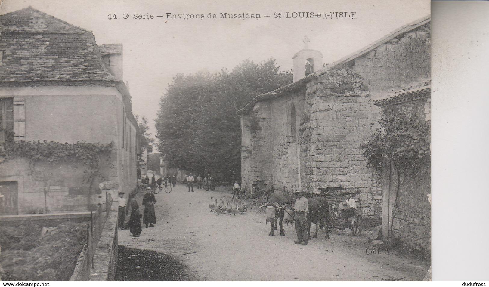 ENVIRONS DE MUSSIDAN  ST LOUIS EN L' Isle - Francia