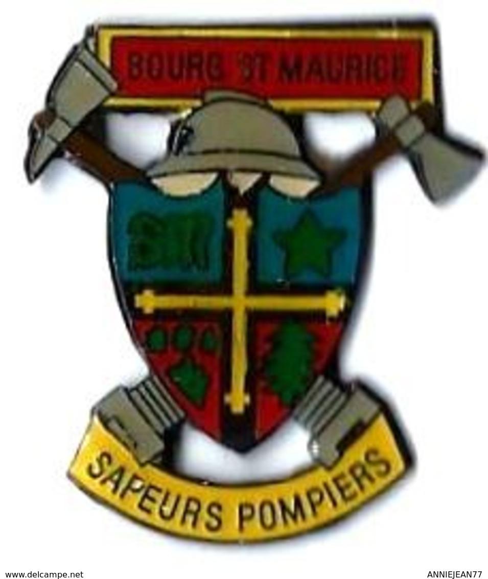POMPIERS - P30 - BOURG ST MAURICE - SAPEURS POMPIERS - Verso : PRESTIM DIFFUSION - Brandweerman