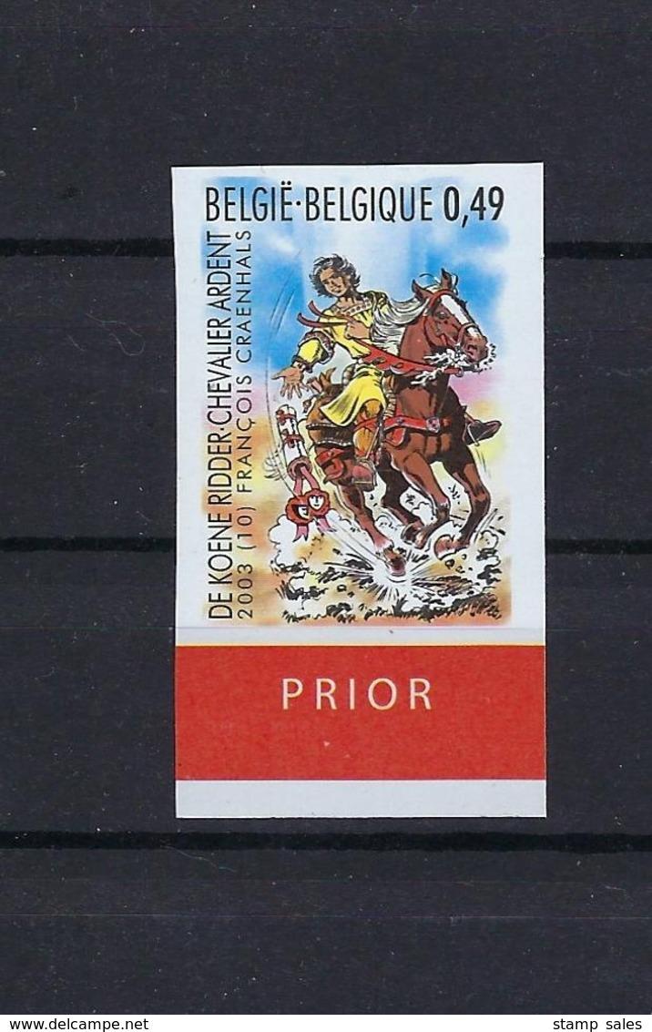 N°3173ND De Koene Ridder (genummerd 412) MNH ** POSTFRIS ZONDER SCHARNIER COB € 75,00 SUPERBE - Non Dentelés