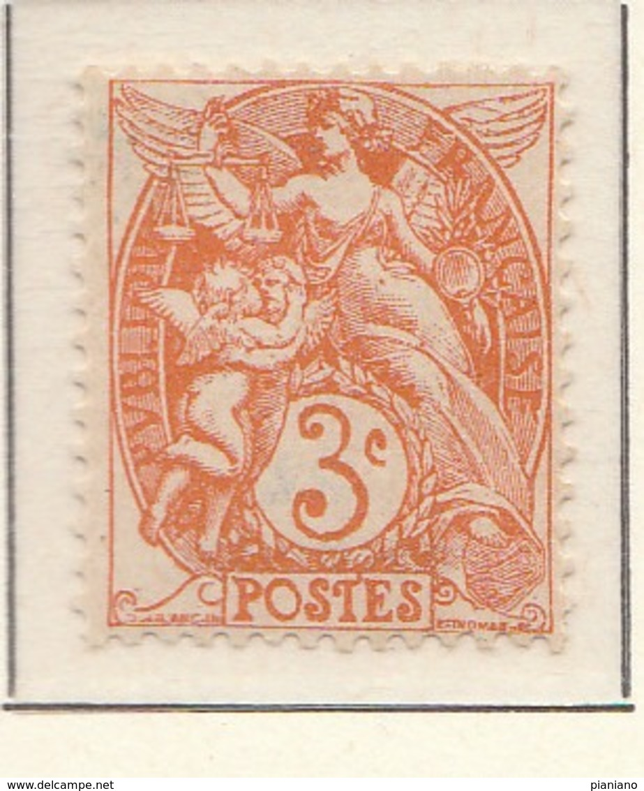 "PIA - FRA - 1900-1924 :  ""Blanc""  - (Yv 109) - 1900-29 Blanc"