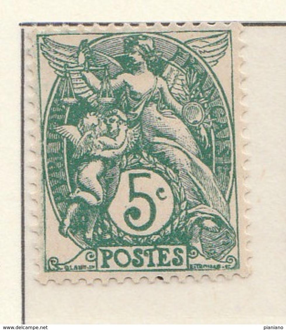 "PIA - FRA - 1900-1924 :  ""Blanc""  - (Yv 111) - 1900-29 Blanc"