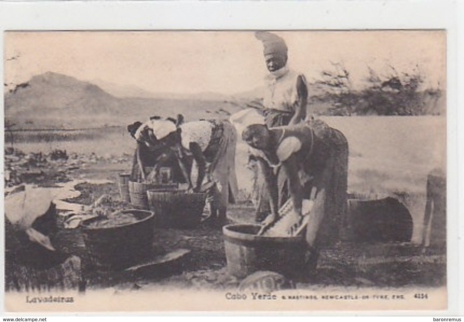 Cabo Verde - Lavadeiras - Ca.1905           (191114) - Cabo Verde