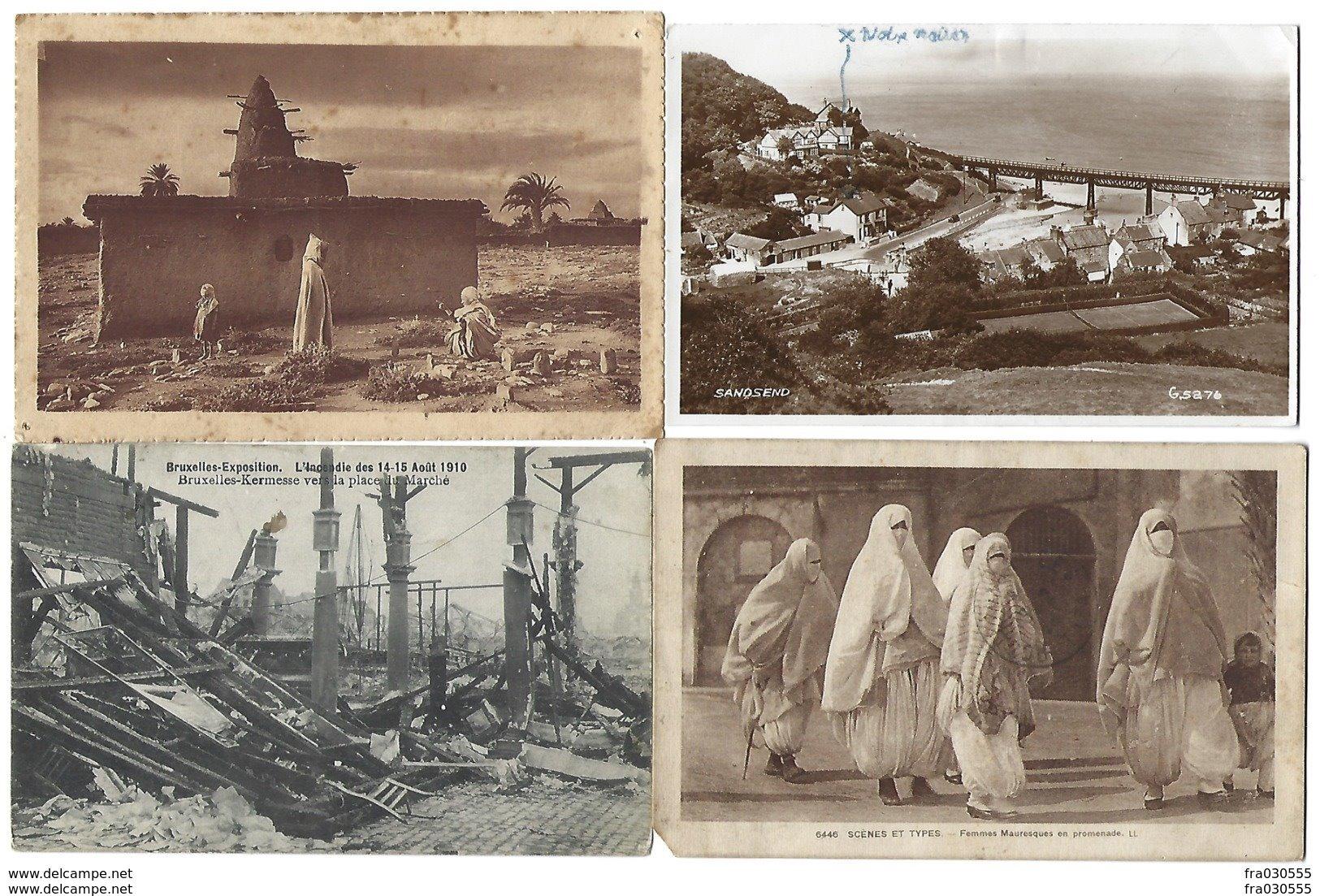 PAYS ETRANGERS - Lot De 50 CPA - Nombreuses Afrique Du Nord - Postkaarten