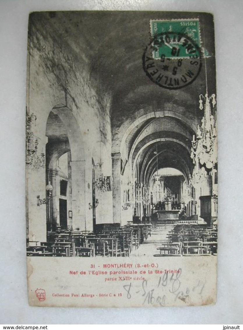 MONTLHERY - Nef De L'église Paroissiale De La Sainte Trinité - Montlhery