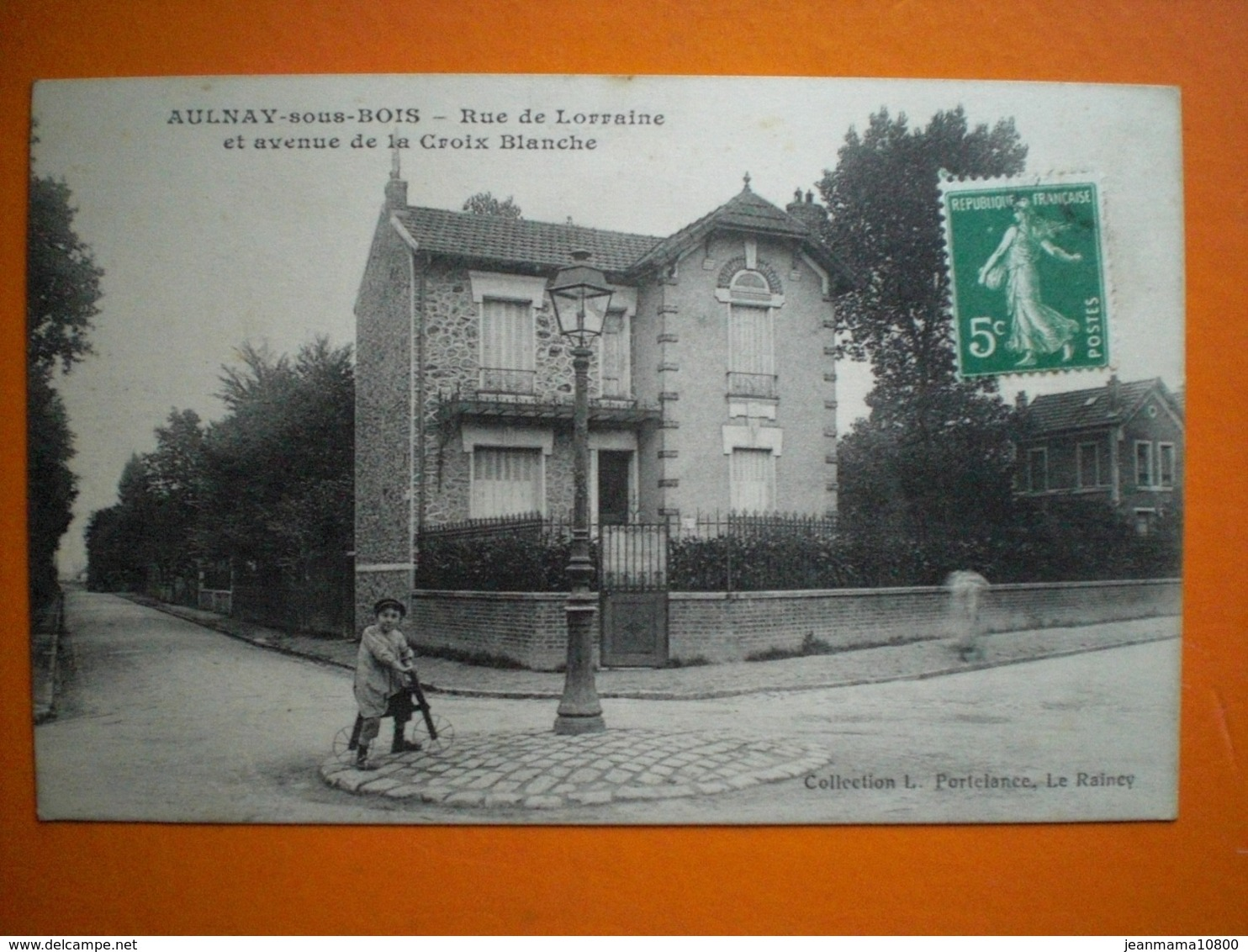 Aulnay Sous Bois Rue De Lorraine Et Avenue De La Croix Blanche - Aulnay Sous Bois