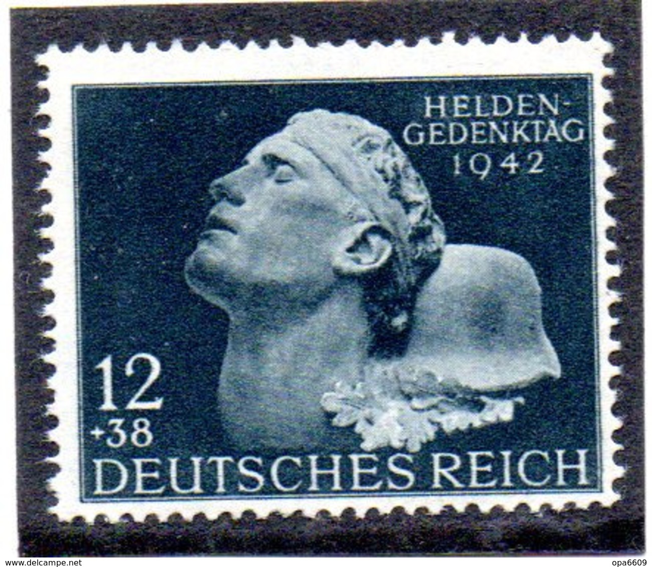 """(2WK-3) Sonderausgabe """"Heldengedenktag 1842"""" Mi 812 ** Postfrisch - Deutschland"""