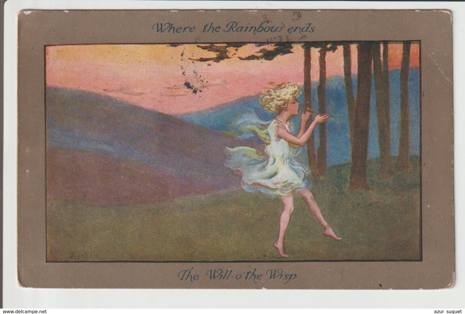 CPA / ANGLETERRE  / 1920 - Phantasie