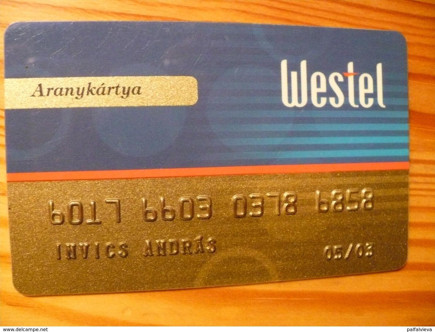 Westel 900 Club Card Hungary - Sonstige