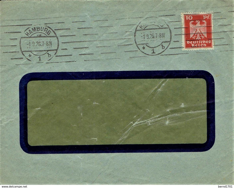 Deutsches Reich - Umschlag Echt Gelaufen / Cover Used (A974) - Deutschland