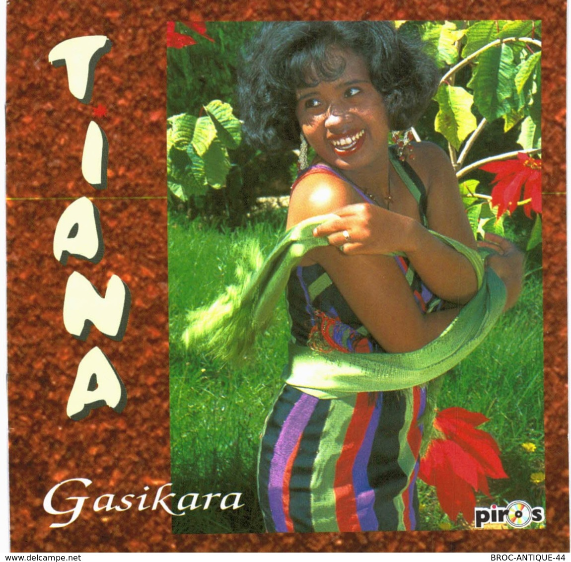 CD N°3308 - TIANA - GASIKARA - COMPILATION 11 TITRES SEGA - Wereldmuziek