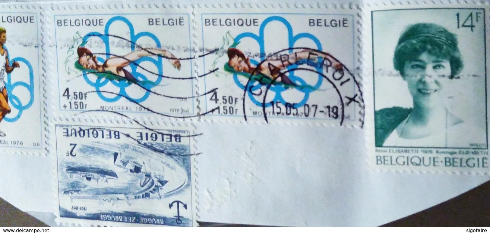 Belgique 4 Timbres - Belgium