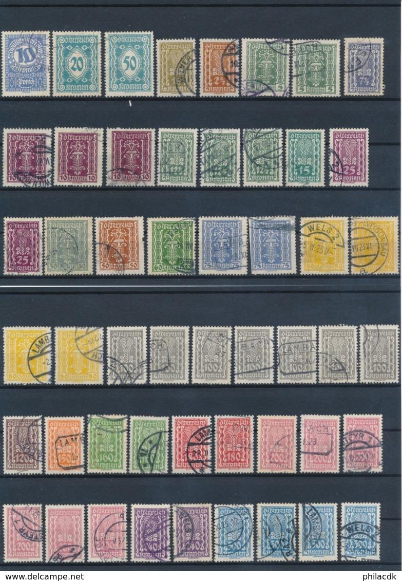 AUTRICHE - BELLE COLLECTION DE + DE 1250 TIMBRES POUR ETUDE - VOIR 28 SCANNS - Autriche