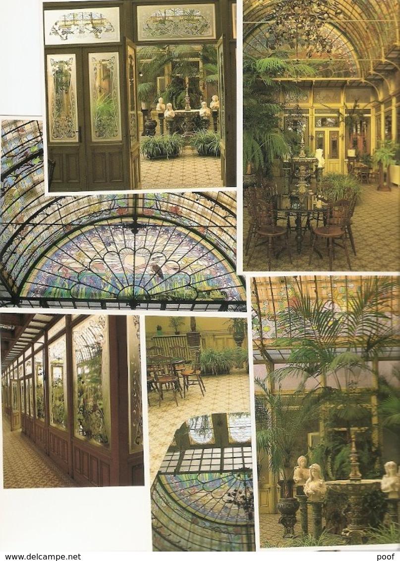 OLV Waver : Instituut Van De Ursulinen --- De Wintertuin ---Mapje Met 10 Kaarten En Uitlegboekje - Sint-Katelijne-Waver