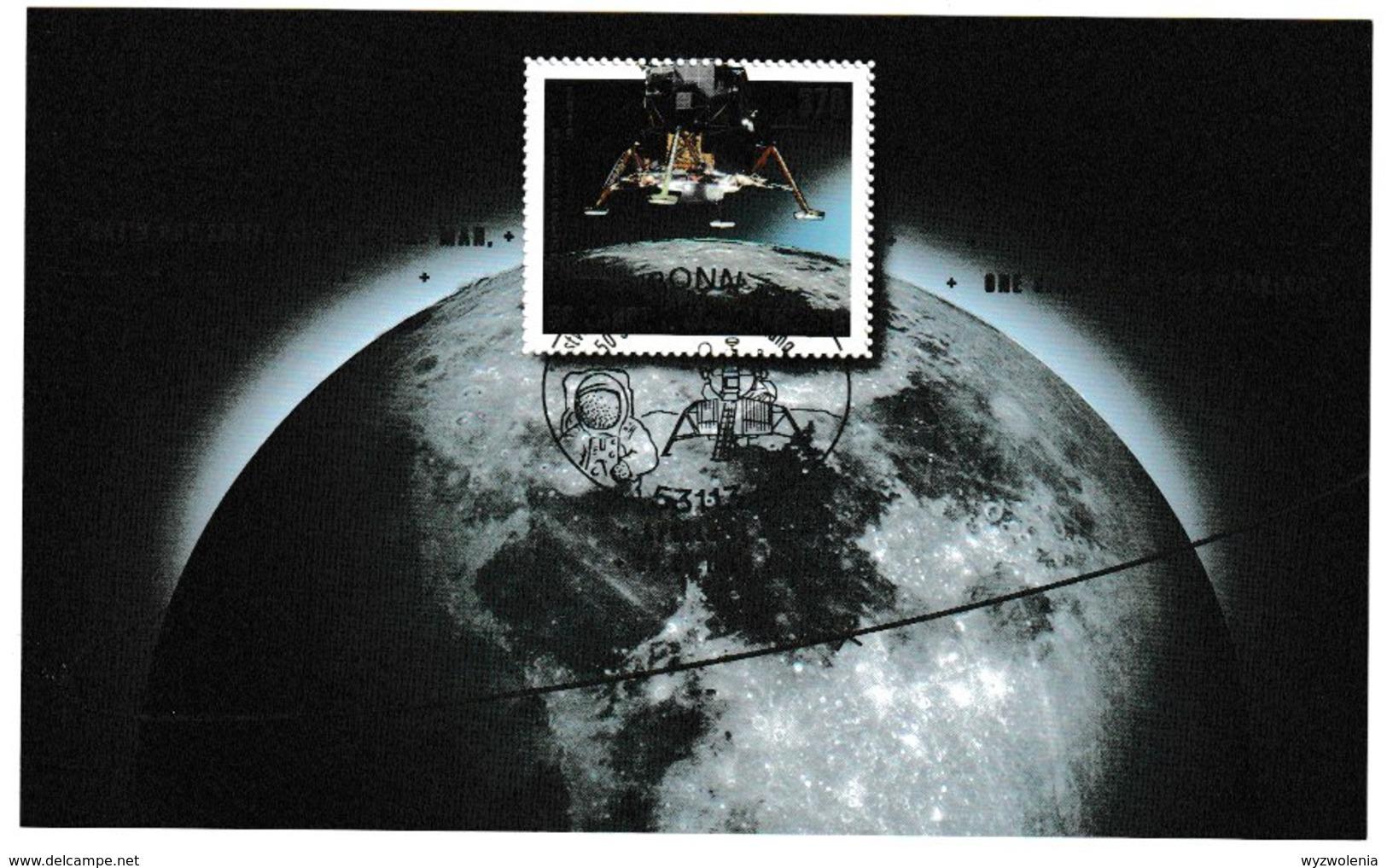 E 108) Deutschland 2019 Mi 3479 Bl. 84 Ersttag-Sonderstempel: 50 Jahre Mondlandung, Raumfahrt - Europa