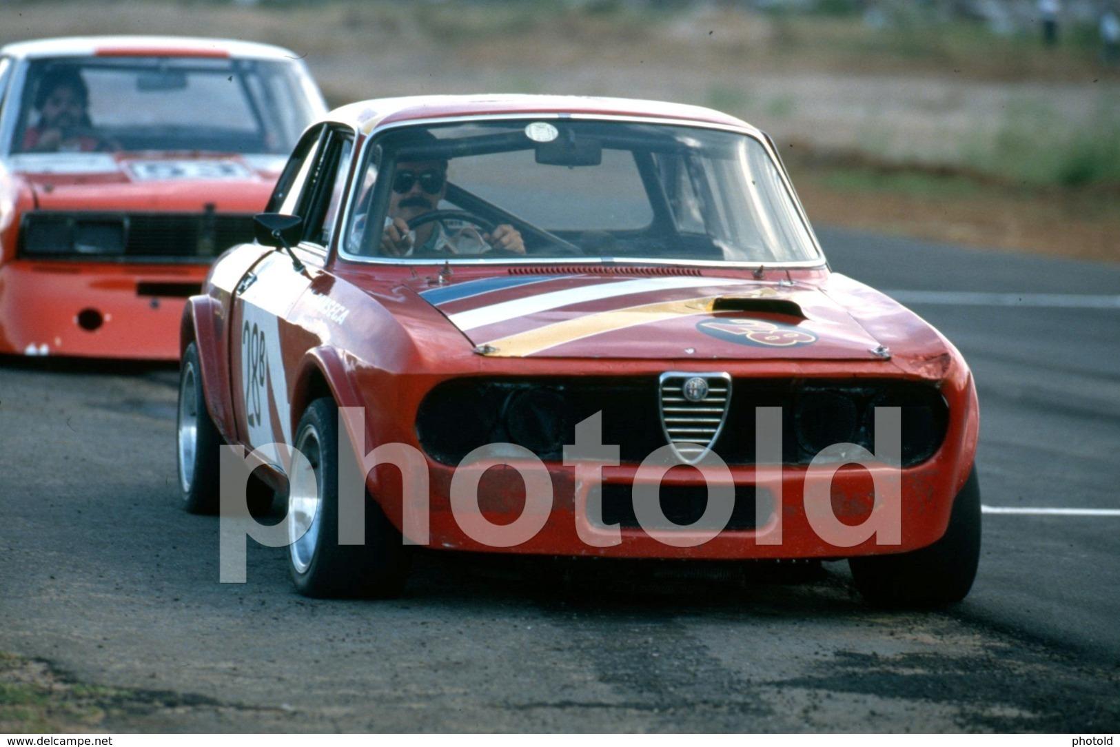 1997 ALFA ROMEO GTV CAR RACING AUTODROMO MOÇAMBIQUE AFRICA AFRIQUE 35mm PRESS DIAPOSITIVE SLIDE Not PHOTO No FOTO B4925 - Dias