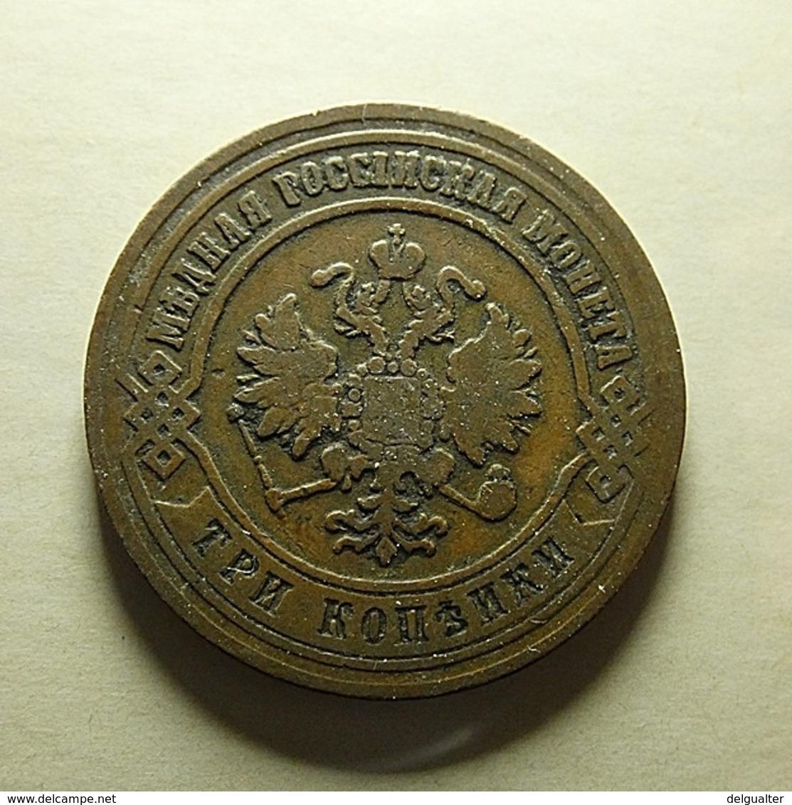 Russia 3 Kopeks 1871 - Russland