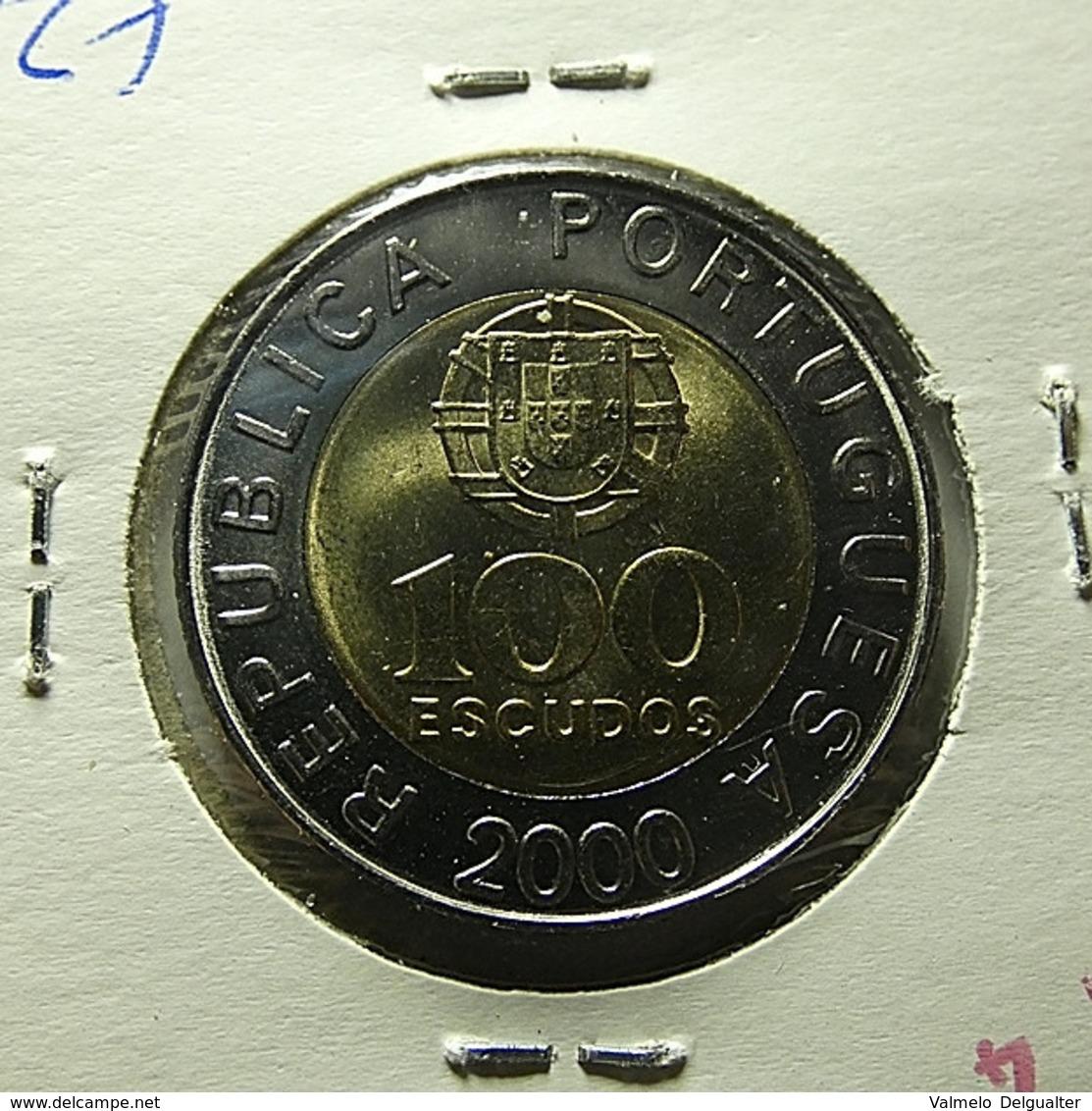 Portugal 100 Escudos 2000 Varnished - Portugal