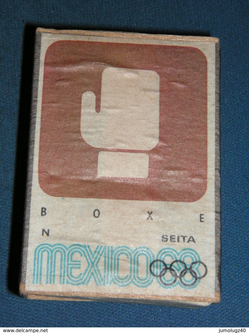 Boite D'allumettes : Mexico 68 : Boxe - Boites D'allumettes - Etiquettes