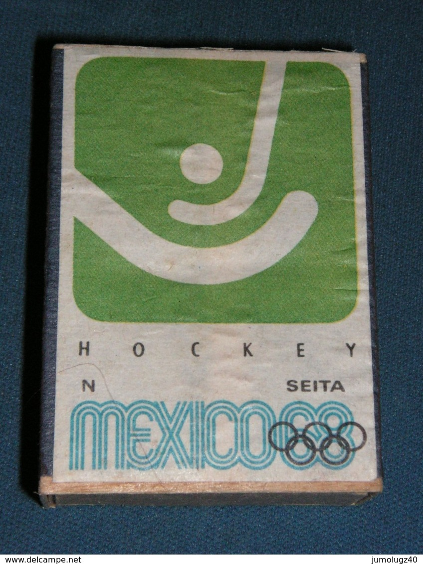 Boite D'allumettes : Mexico 68 : Hockey - Boites D'allumettes - Etiquettes