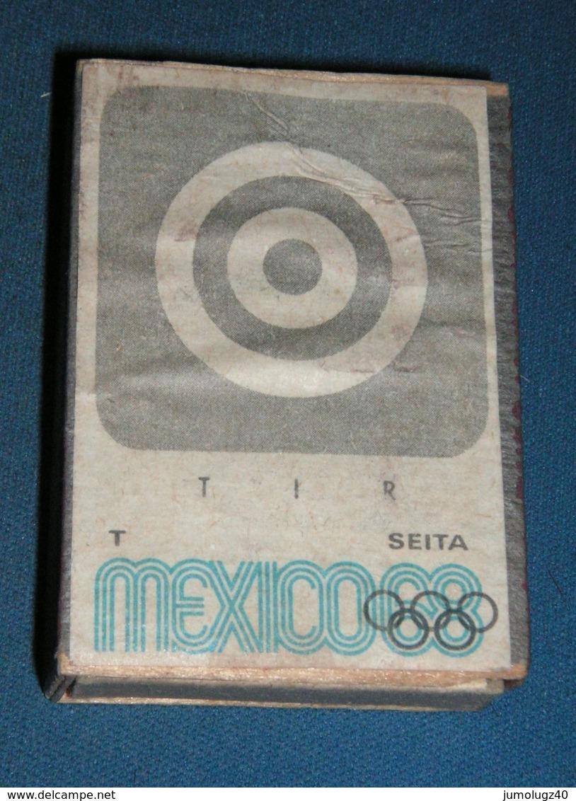 Boite D'allumettes : Mexico 68 : Tir - Boites D'allumettes - Etiquettes