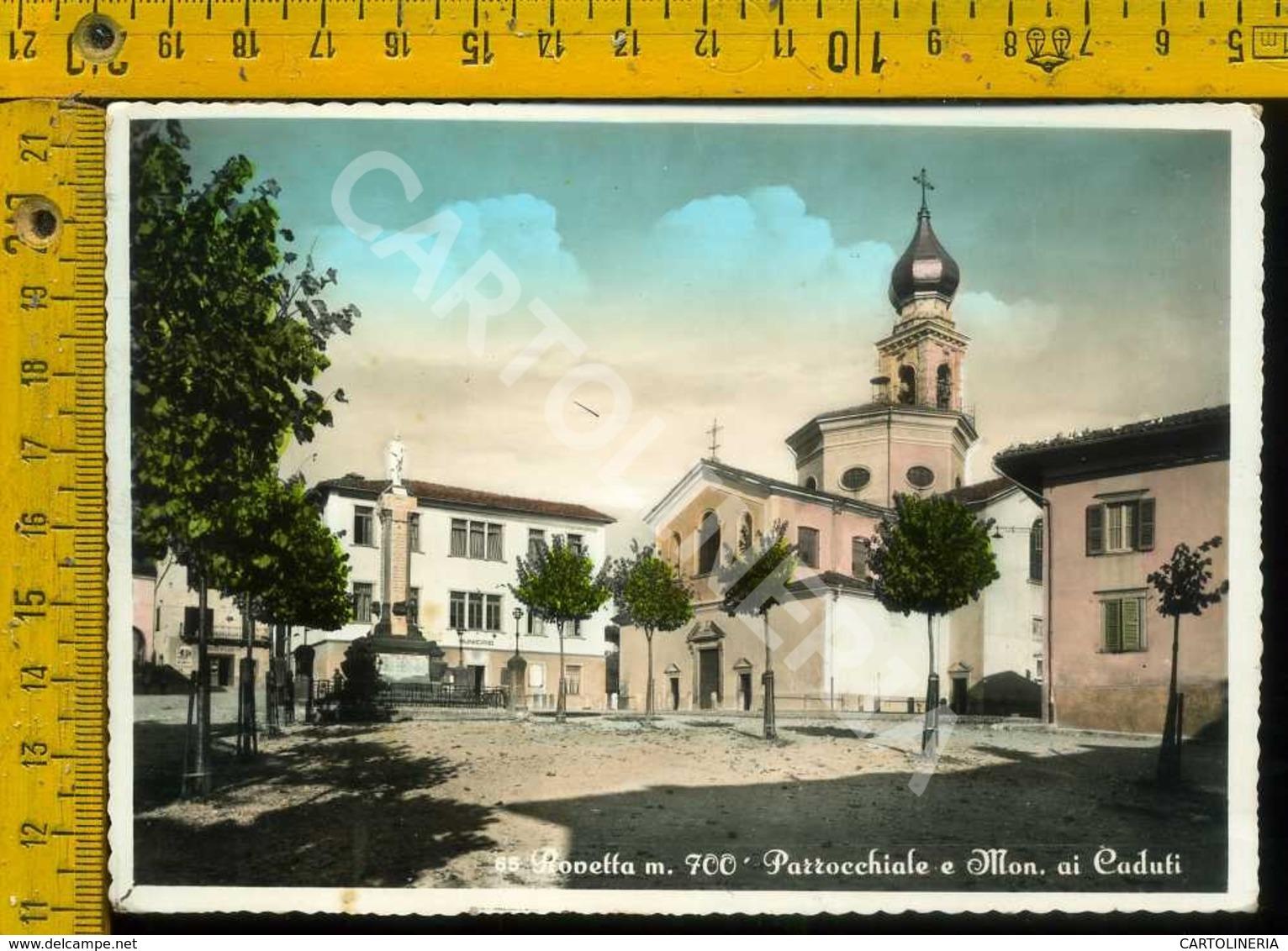 Bergamo Rovetta Parrocchia E Mon. Ai Caduti - Bergamo