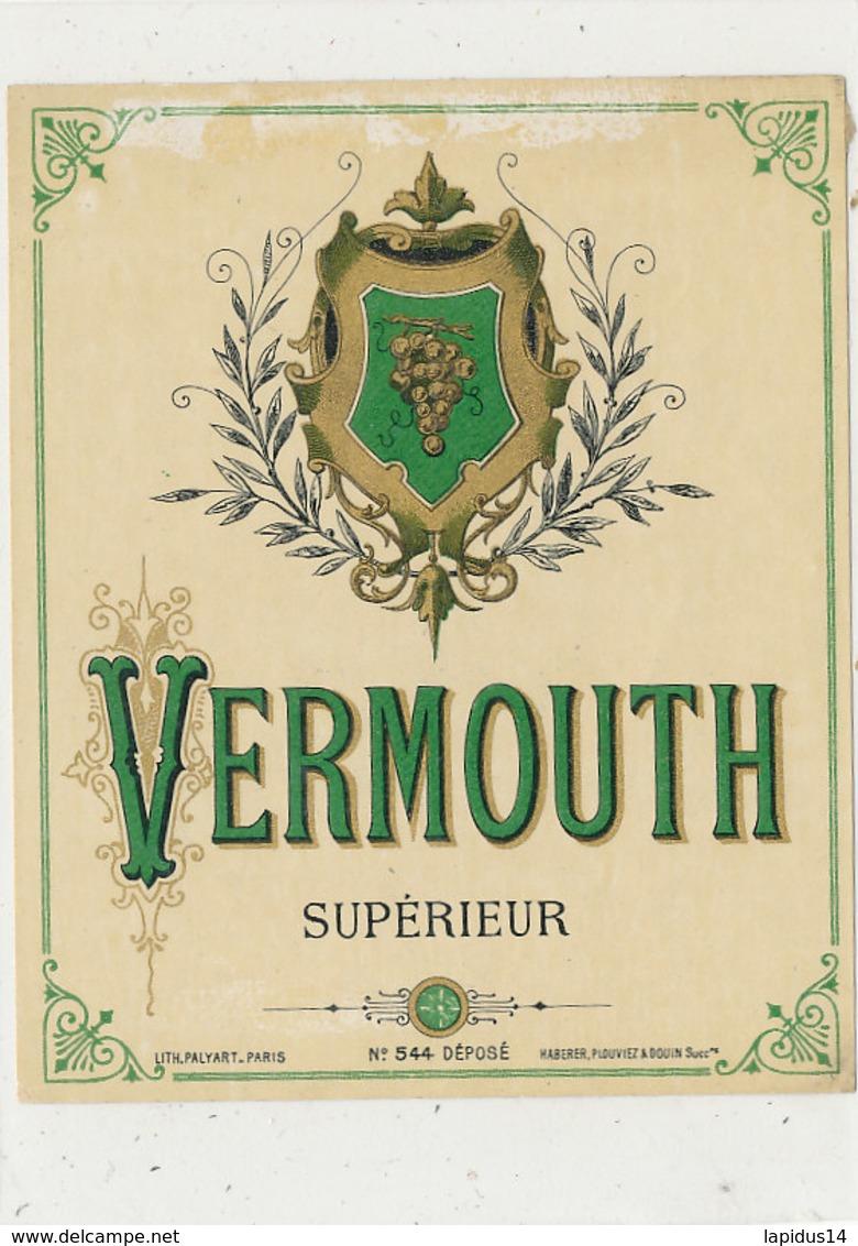 AN 670 / ETIQUETTE     VERMOUTH  SUPERIEUR    N° 544 - Unclassified