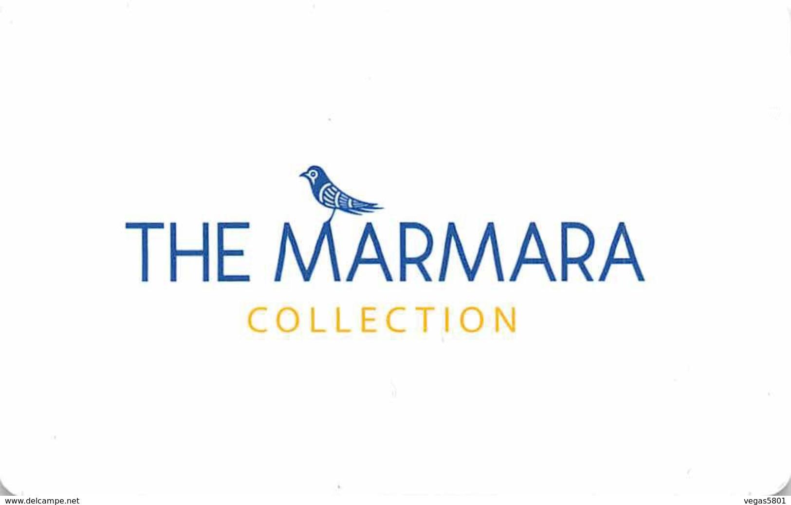 THE MARMARA COLLECTION - Turkey - Hotel Room Key Card, Hotelkarte, Schlüsselkarte, Clé De L'Hôtel - Hotelkarten