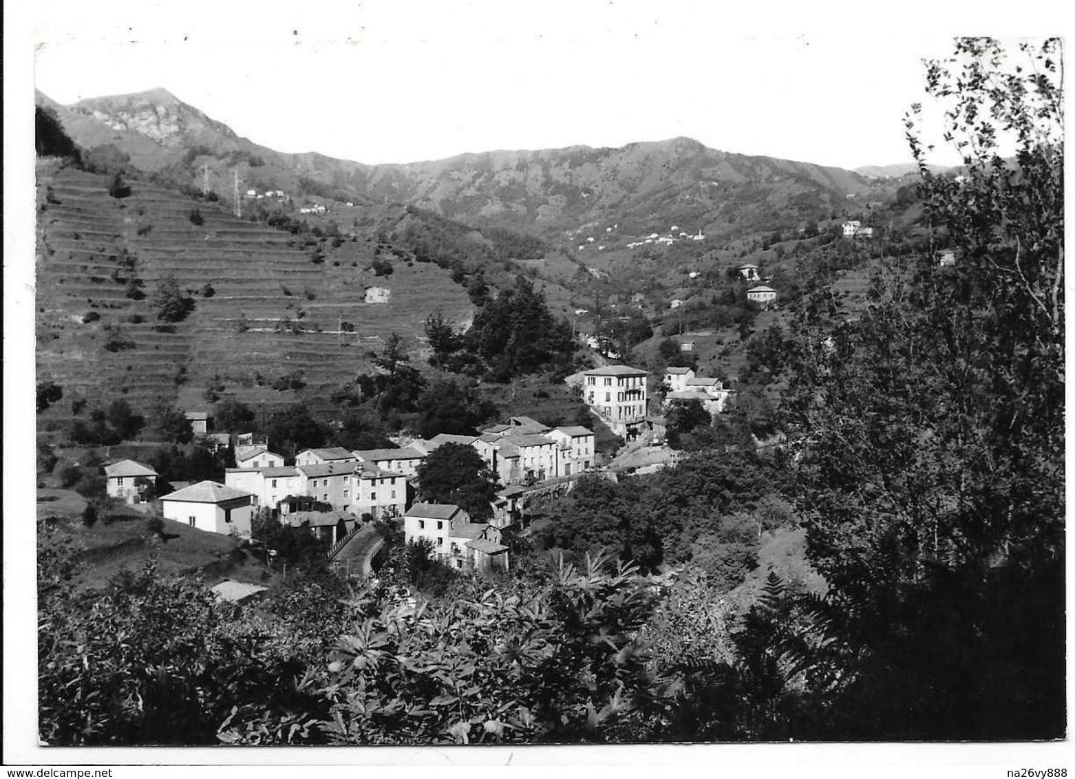 Ferriere Di Lumarzo (Genova). Panorama. - Genova (Genoa)