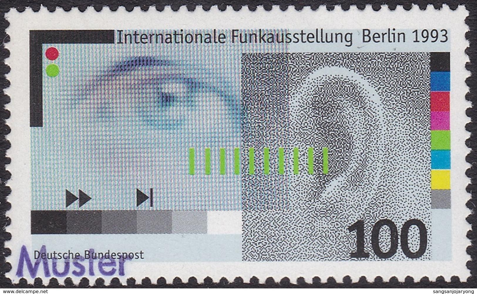 Specimen, Germany Sc1810 International Radio Exhibition - Other International Fairs